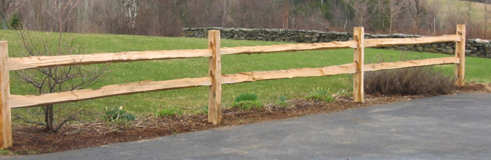 About Our Split Rail Fence Triple Bridge Farm